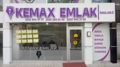 Kemax - KEMAX EMLAK'TAN SOĞUCAKTA TEK TAPU TARLA